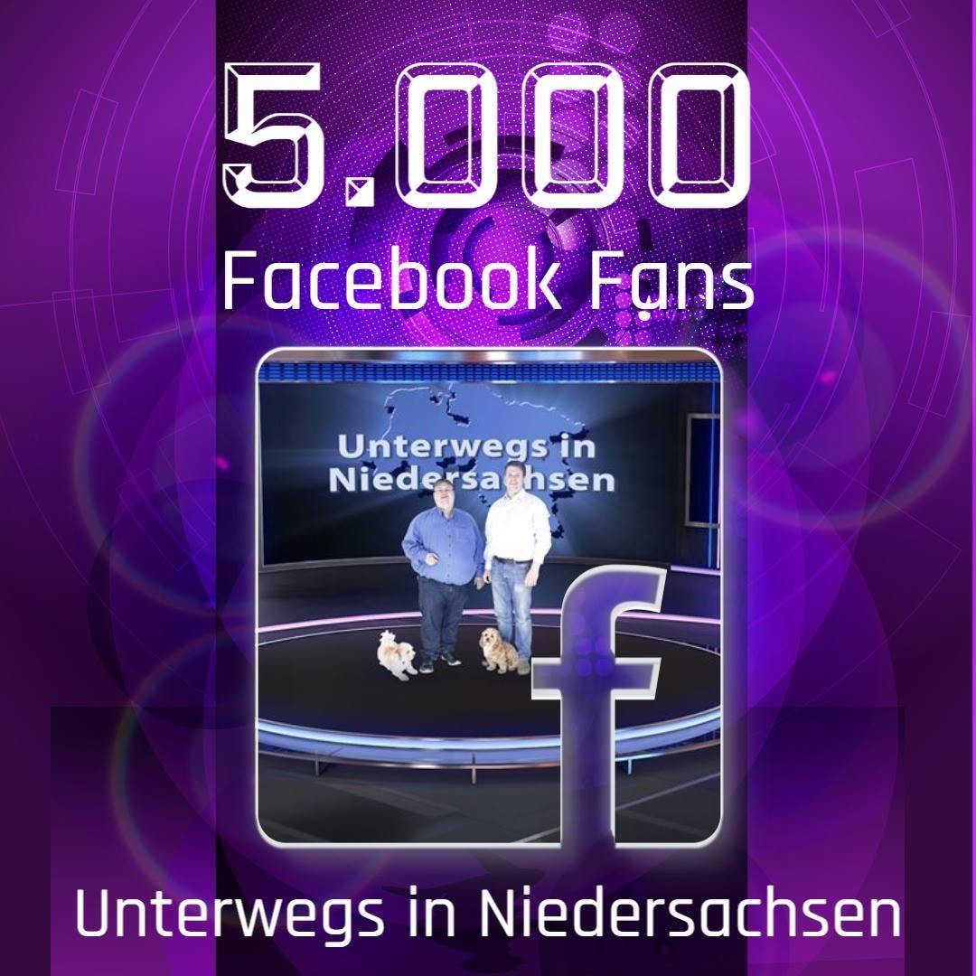 5.000 Facebook-Fans